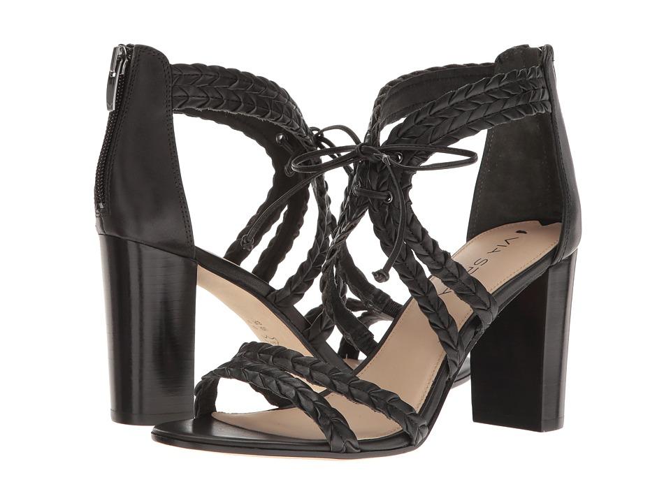 Via Spiga - Gardenia (Black Leather) Women's Shoes