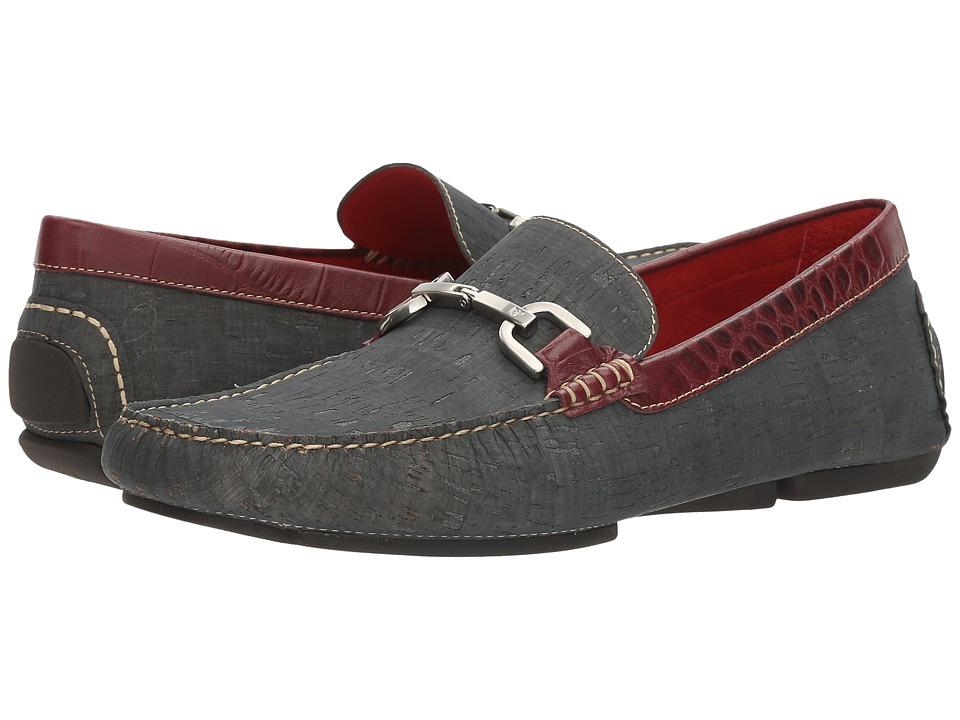 Donald J Pliner - Vexx (Navy) Men's Shoes