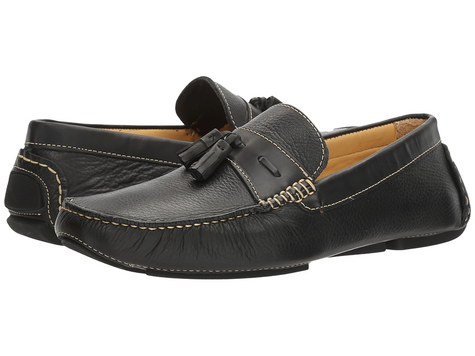 Donald J Pliner - Veep (Black) Men's Shoes