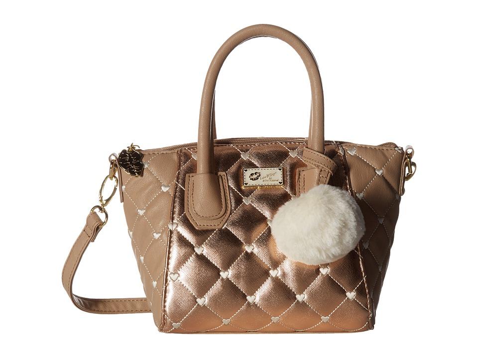 Luv Betsey - Giya Mini Satchel (Rose Gold) Satchel Handbags