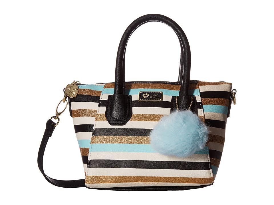 Luv Betsey - Giya Mini Satchel (Blue) Satchel Handbags