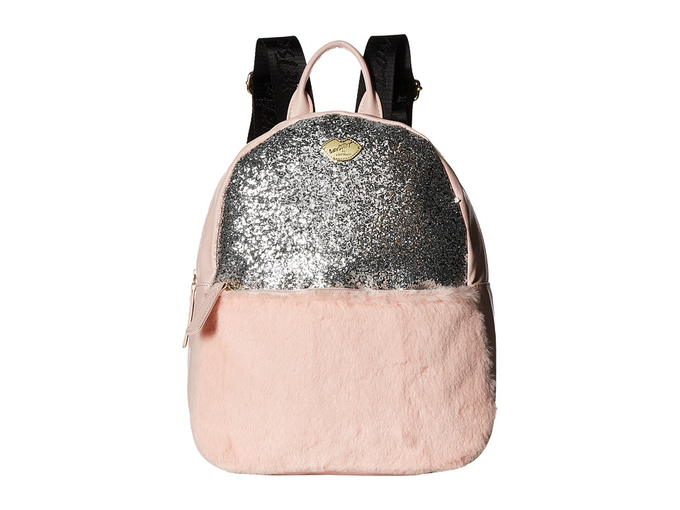 Luv Betsey - Glam Glitter Backpack (Blush) Backpack Bags