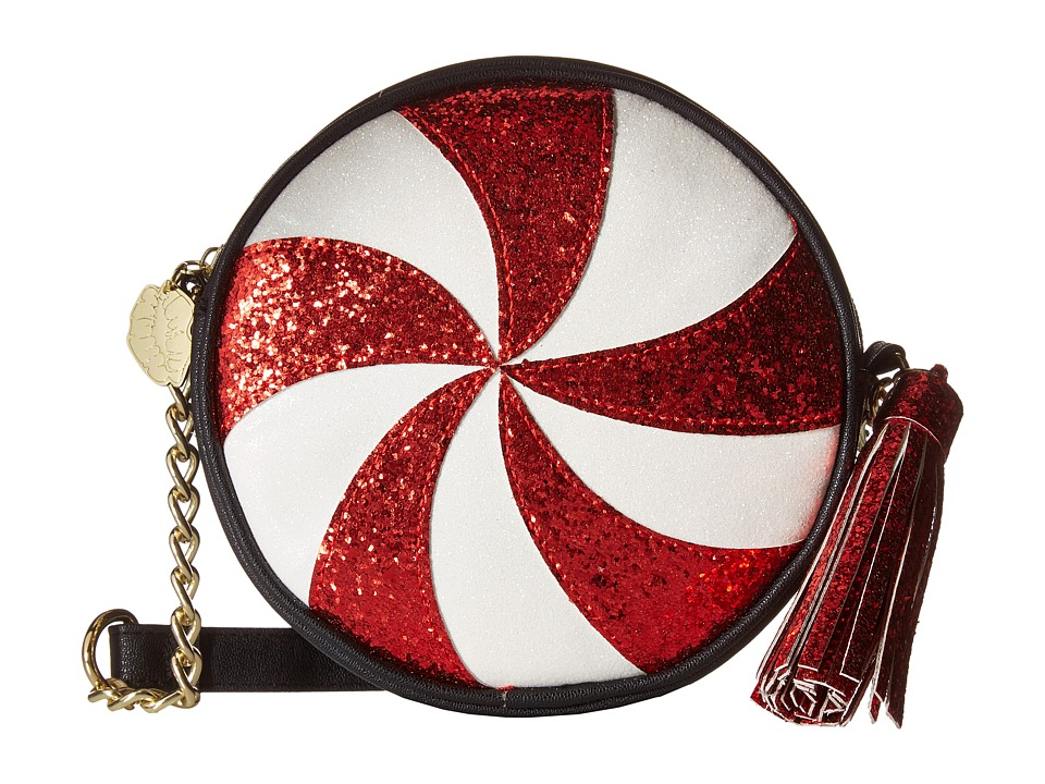 Luv Betsey - Cane Kitch Canteen (Red) Cross Body Handbags