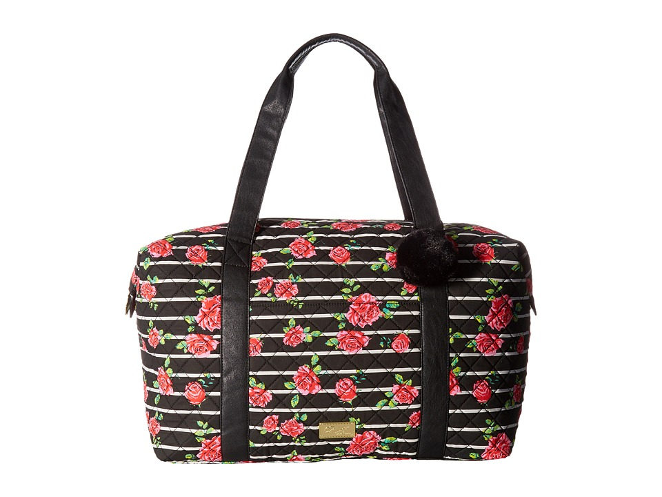Luv Betsey - Playyr Quilted Weekender (Rose) Weekender/Overnight Luggage