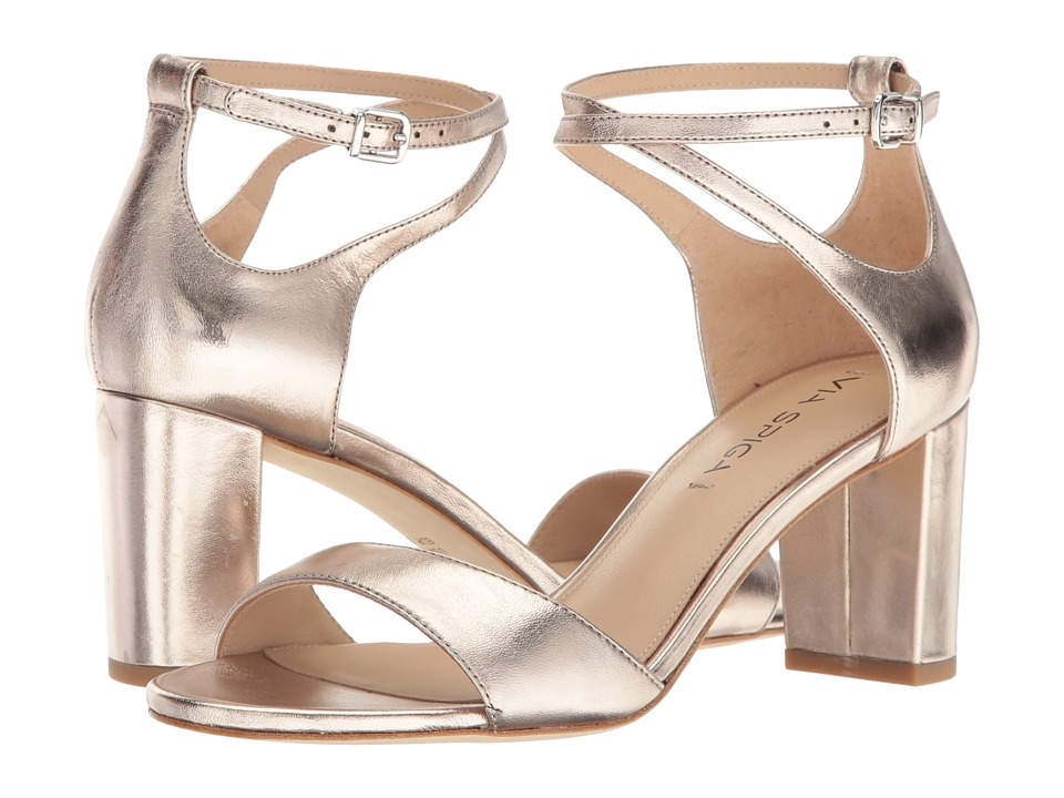 Via Spiga Wendi (Rose Gold Leather) High Heels