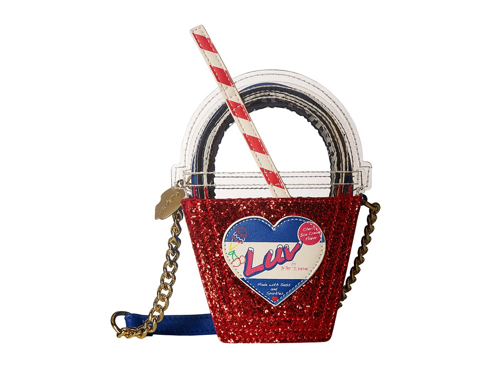 Luv Betsey - Frost Kitch Crossbody (Red) Cross Body Handbags