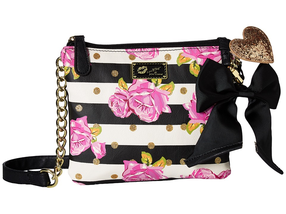 Luv Betsey - Double Crossbody (Rose) Cross Body Handbags
