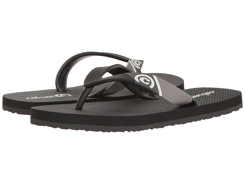 Cobian - Cruzin (Toddler/Little Kid/Big Kid) (Black) Men's Sandals