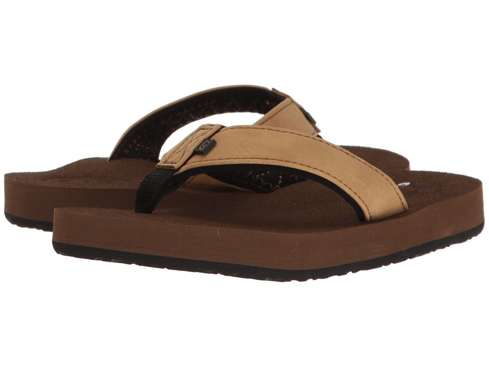 Cobian - Floater Jr. (Toddler/Little Kid/Big Kid) (Tan) Men's Sandals