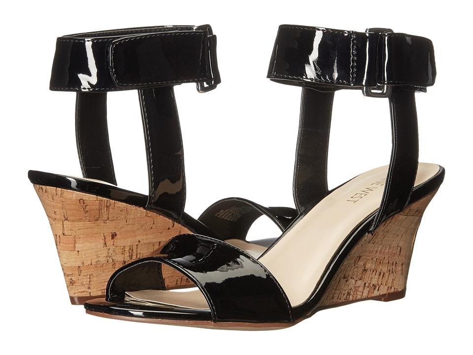 Nine West - Riley (Black Synthetic) Women's Shoes