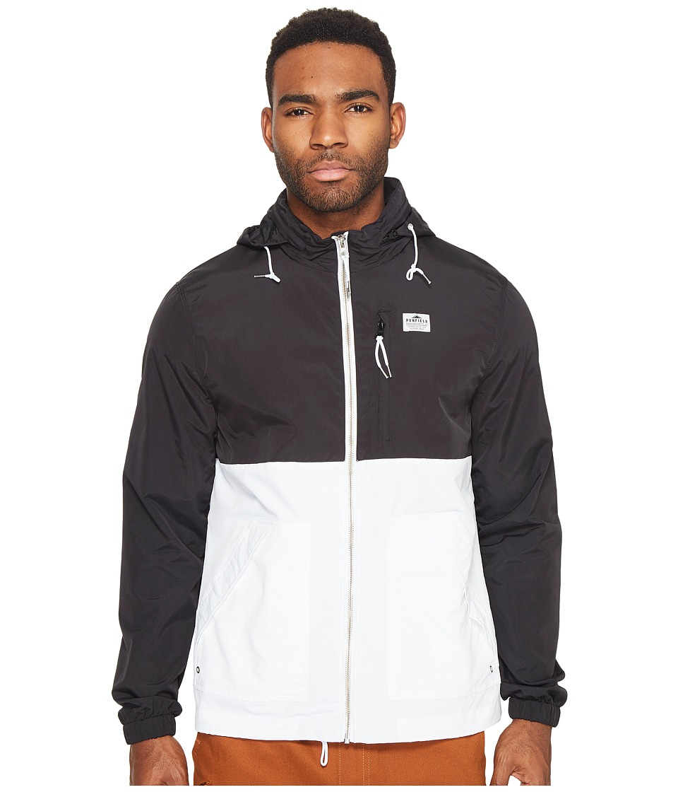 Penfield - Barnes Two-Tone Jacket (Black) Men's Coat