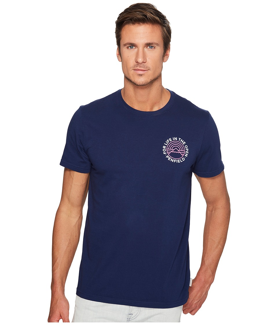 Penfield - Emblem T-Shirt (Blueprint) Men's T Shirt