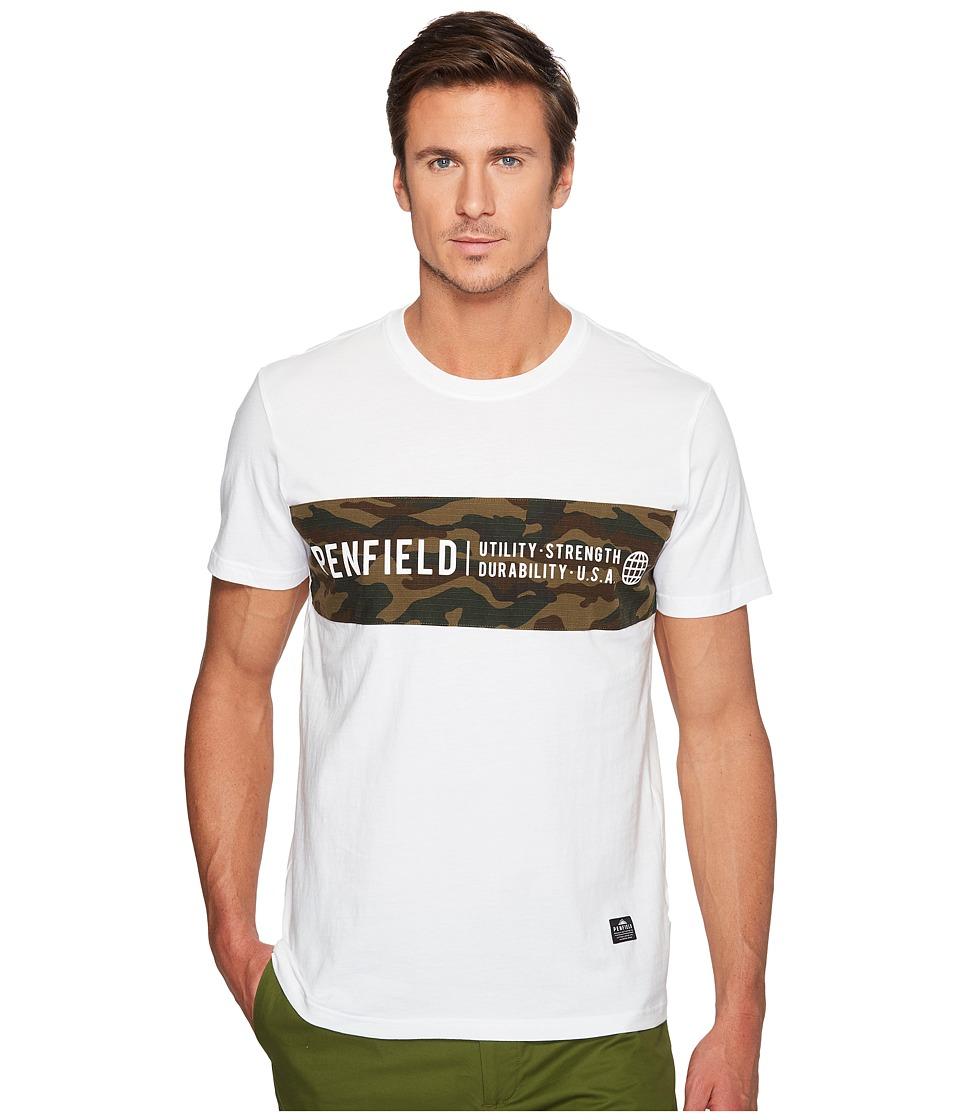 Penfield - Dillon T-Shirt (White) Men's T Shirt