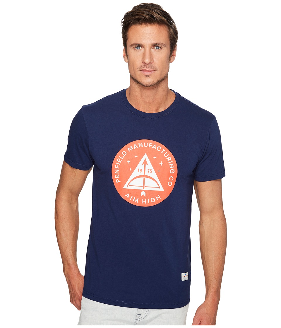 Penfield - Aim High T-Shirt (Blueprint) Men's T Shirt