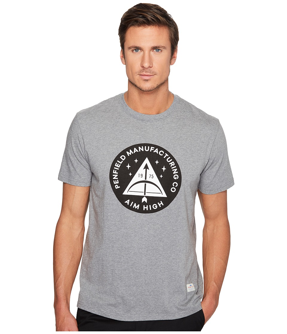 Penfield - Aim High T-Shirt (Grey) Men's T Shirt