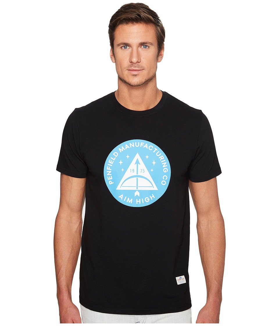 Penfield - Aim High T-Shirt (Black) Men's T Shirt