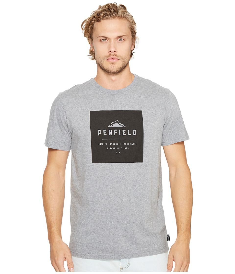 Penfield - Kemp T-Shirt (Grey) Men's T Shirt
