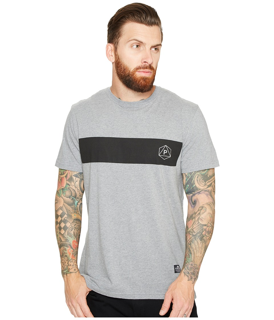Penfield - Icons Short Sleeve Tee (Grey) Men's Short Sleeve Pullover