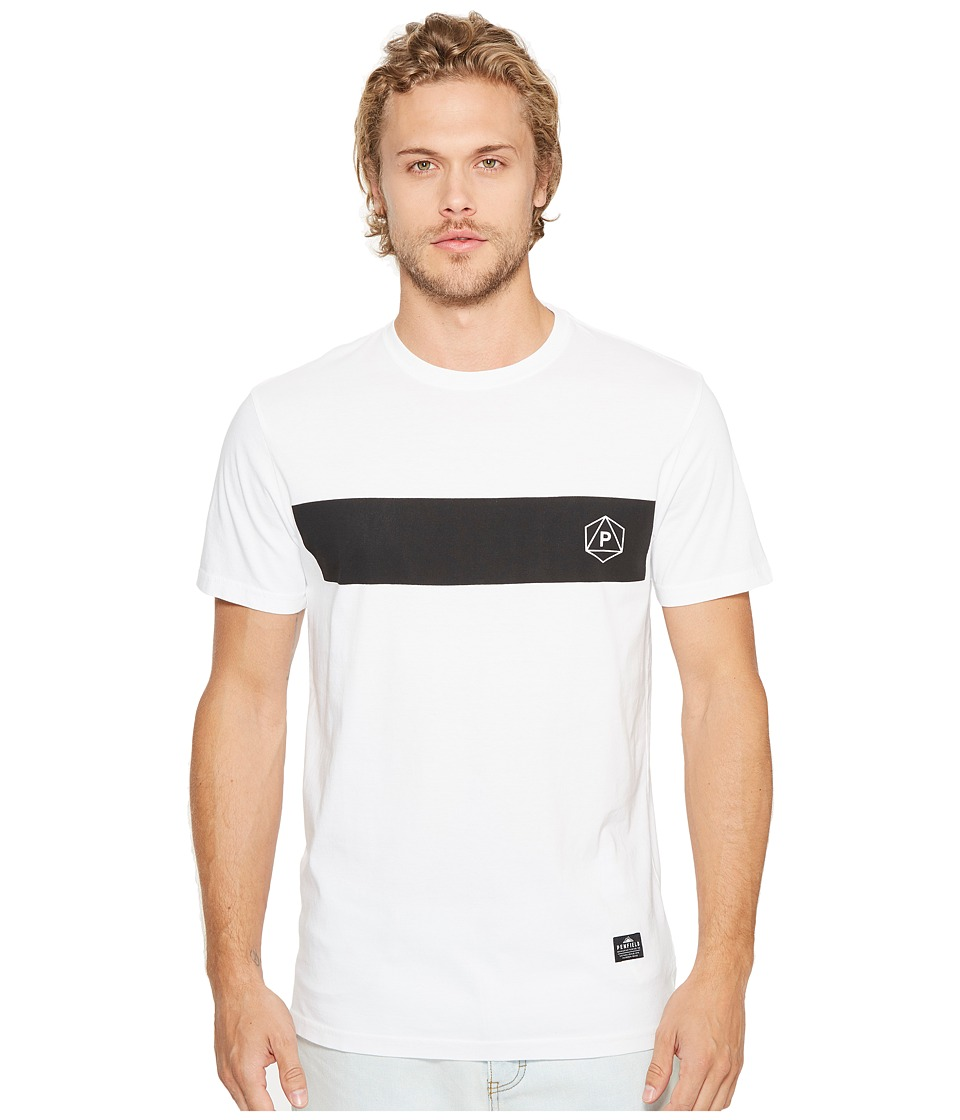 Penfield - Icons Short Sleeve Tee (White) Men's Short Sleeve Pullover