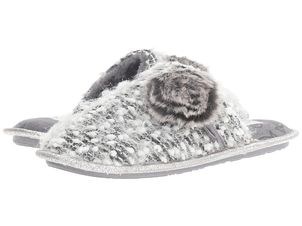 Pretty You London - Sienna (Black/White) Women's Slippers
