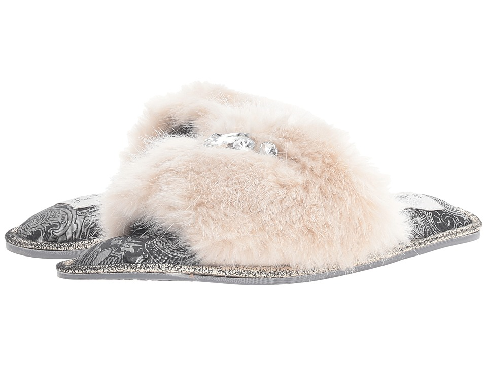 Pretty You London - Savanna (Cream) Women's Slippers