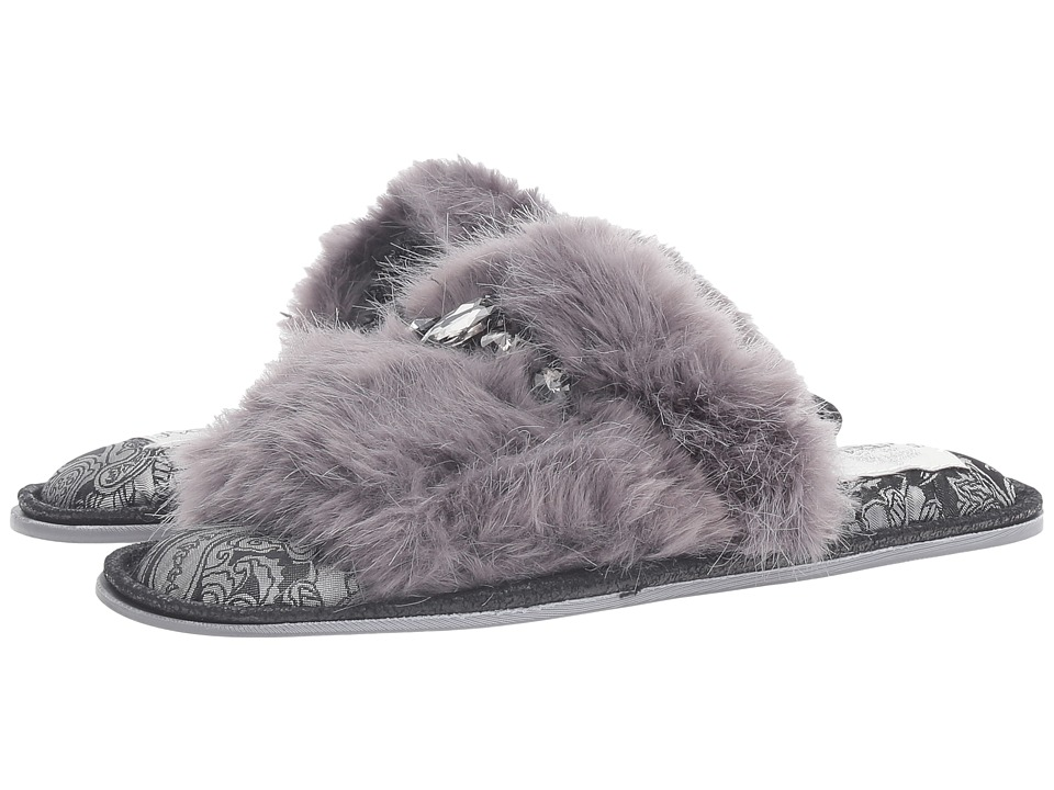 Pretty You London - Savanna (Grey) Women's Slippers