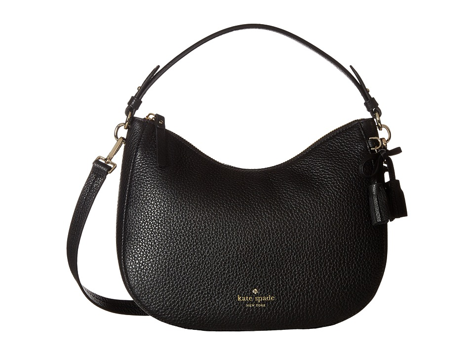 Kate Spade New York - Hayes Street Small Aiden (Black) Handbags