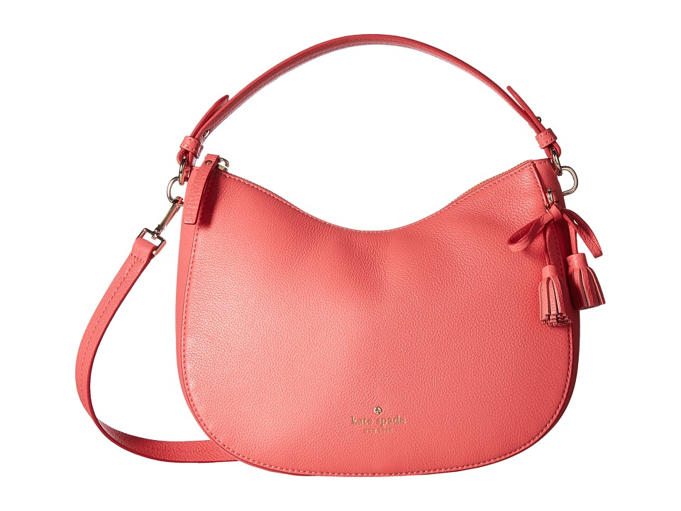Kate Spade New York - Hayes Street Small Aiden (Warm Guava) Handbags