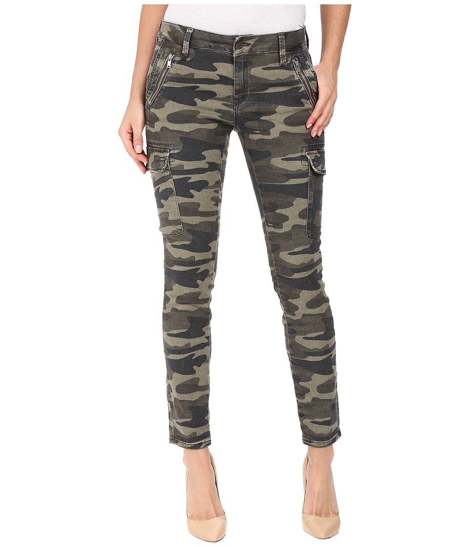 Mavi Jeans - Juliette Skinny Cargo in Military Camouflage (Military Camouflage) Women's Jeans