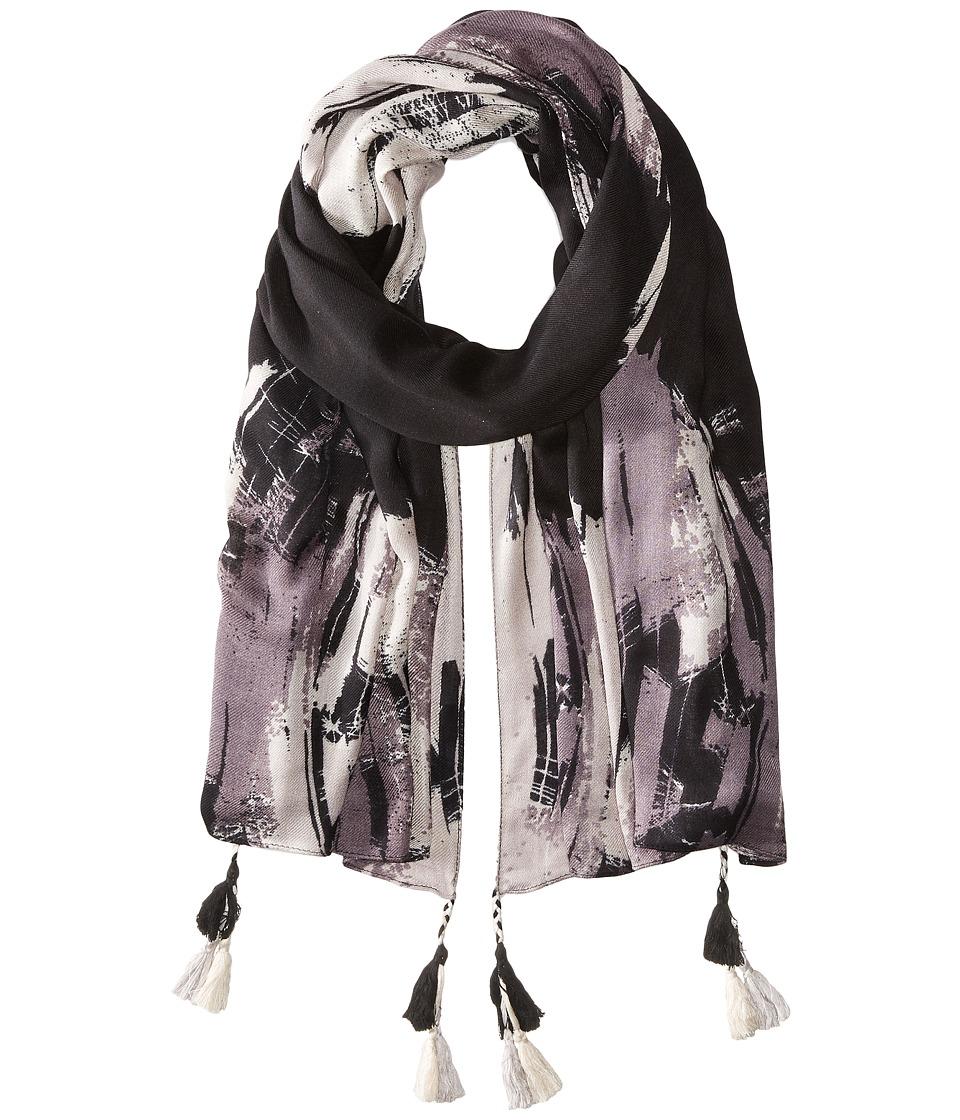 BCBGMAXAZRIA - Texture Wrap (Black) Scarves
