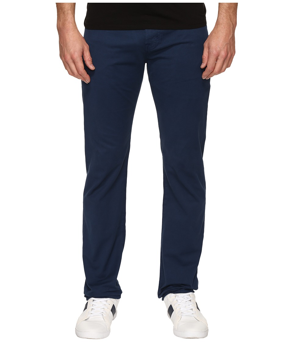 AG Adriano Goldschmied - Matchbox Slim Straight Twill Pants in Nocturnal (Nocturnal) Men's Casual Pants