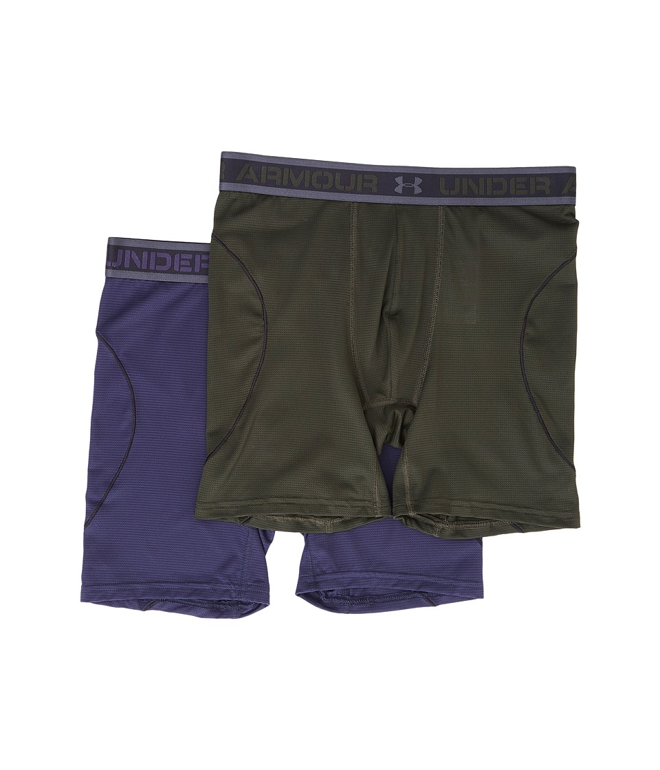 Under Armour - Iso-Chill 6 2-Pack (Artillery Green) Men's Workout