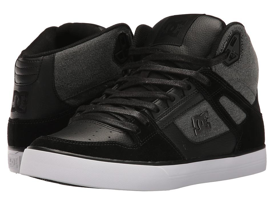 DC - Spartan High WC SE (Black Used) Men's Skate Shoes