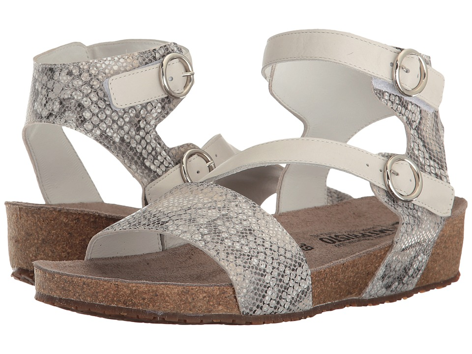 Mephisto - Indra (Sand Boa/Fog Cigale) Women's Sandals