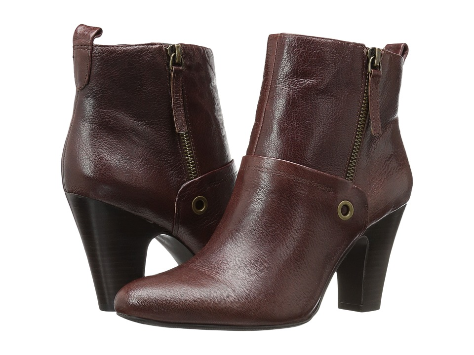Nine West - Gowithit (Brown Leather) Women's Boots