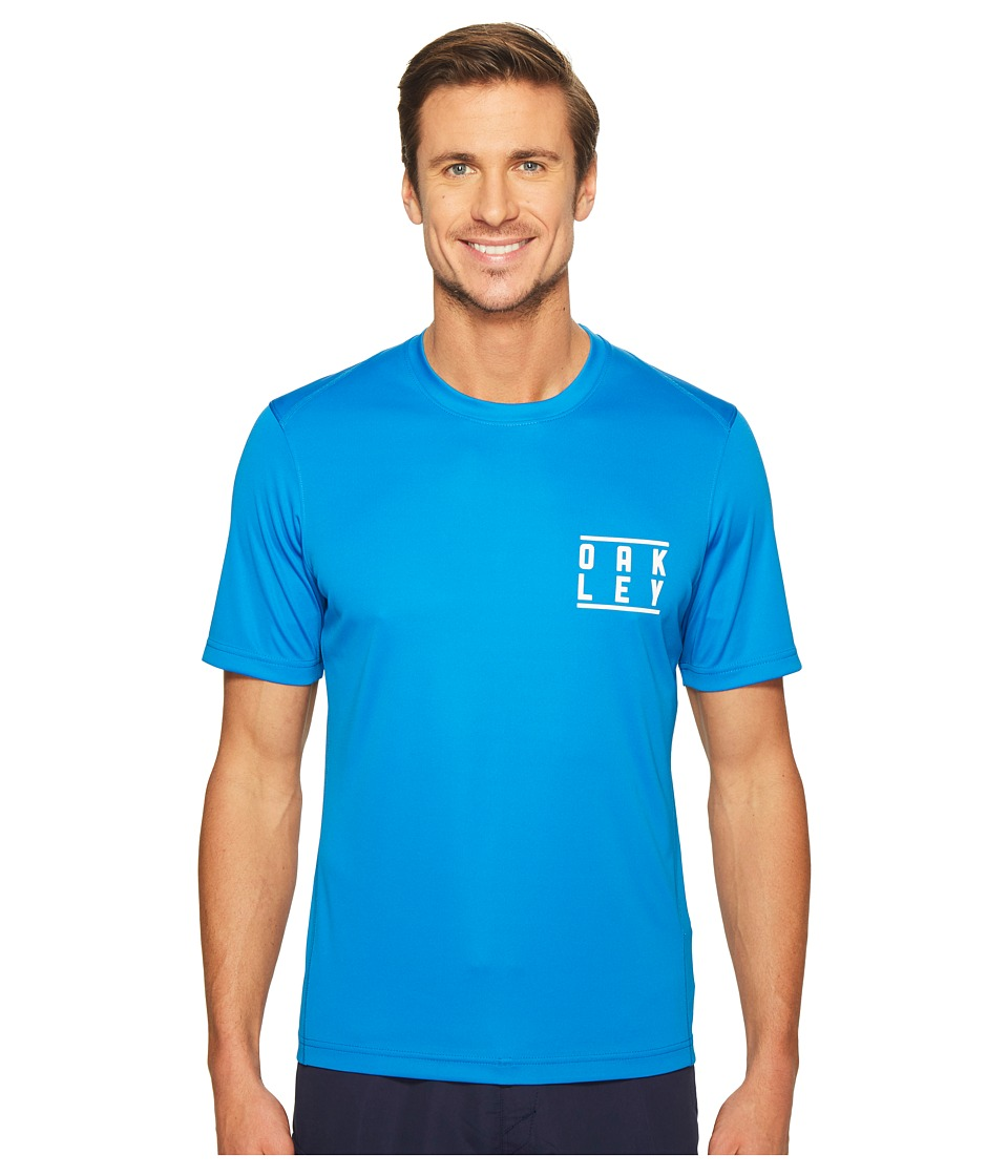 Oakley - Short Sleeve Surf Tee (Ozone) Men's Swimwear