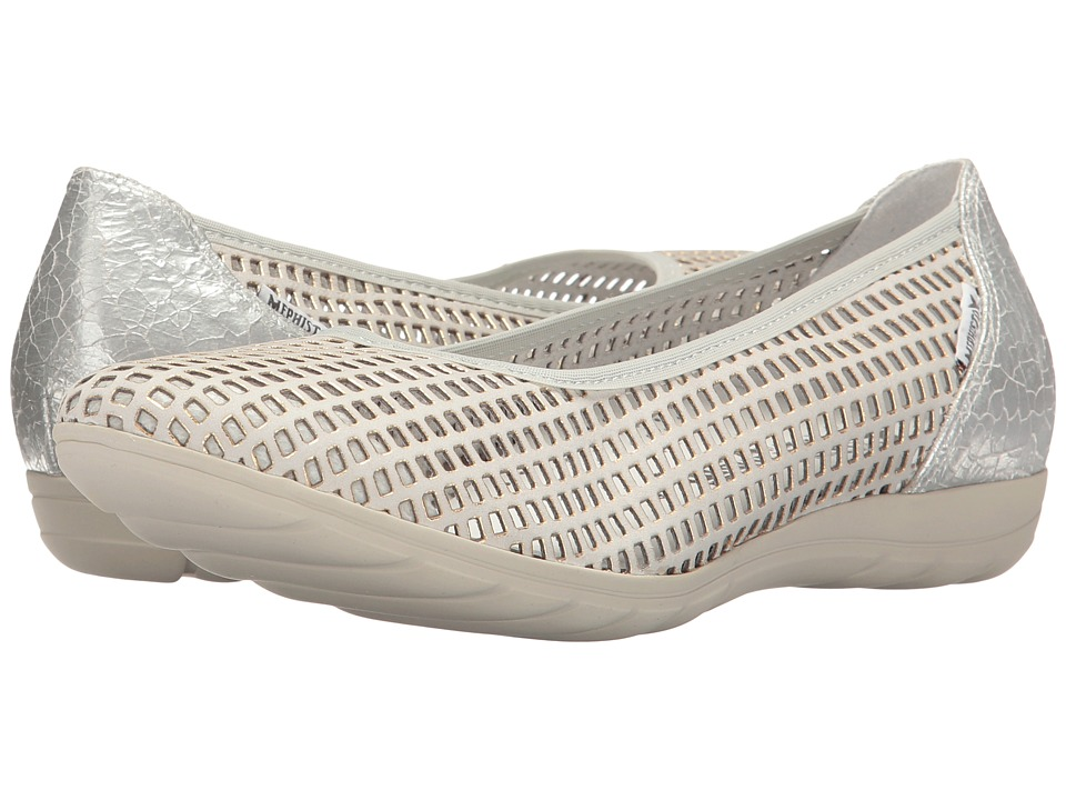 Mephisto - Evelyne (Cloud Window/Silver Ice) Women's Shoes