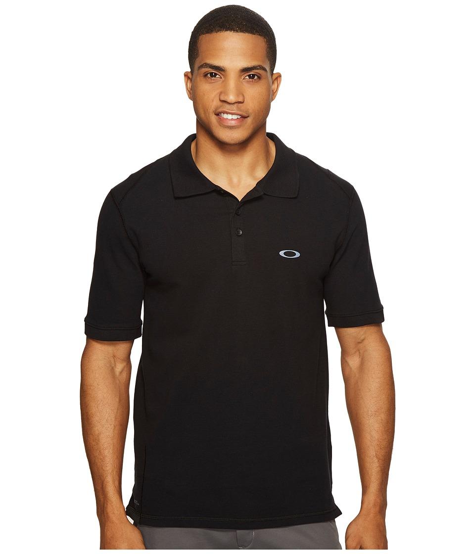 Oakley - Icon Short Sleeve Polo (Blackout) Men's Short Sleeve Pullover