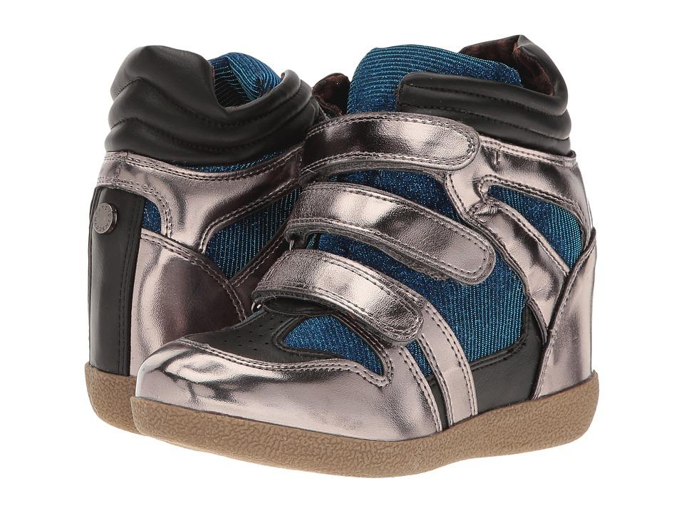 Steve Madden Kids - Jreggo (Toddler/Little Kid/Big Kid) (Pewter Multi) Girl's Shoes