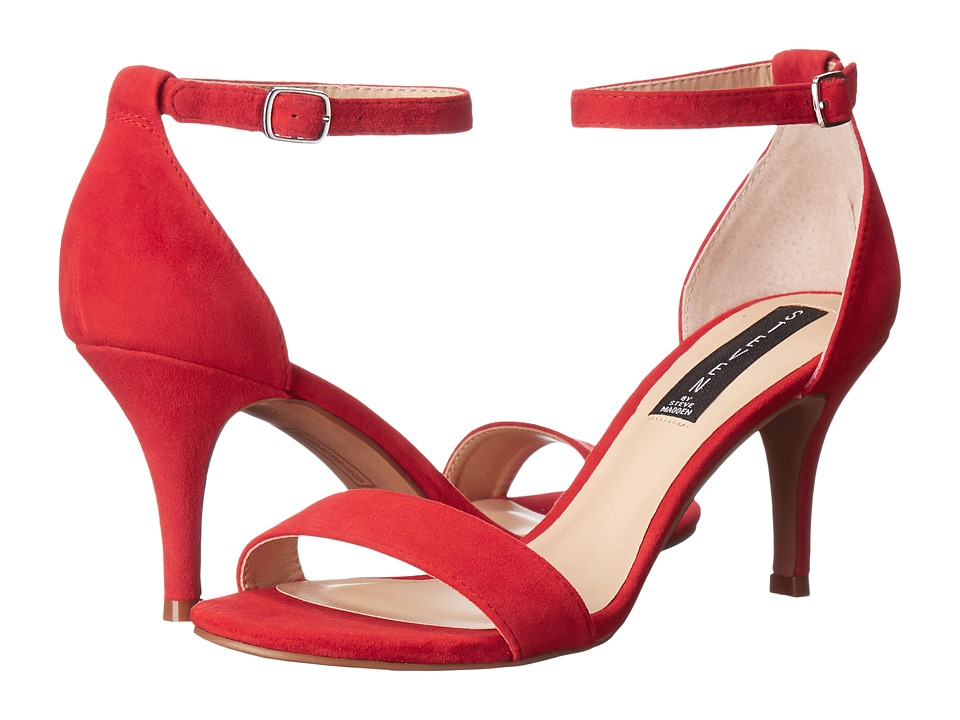 Steven - Viienna (Red Suede) High Heels