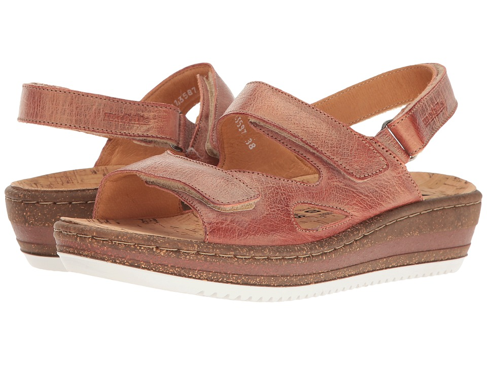 Mephisto - Laura (Tobacco Blush) Women's Sandals