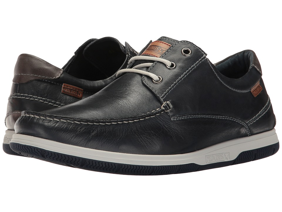 Pikolinos - Almeria 08L-4145 (Navy Blue/Dark Grey) Men's Shoes