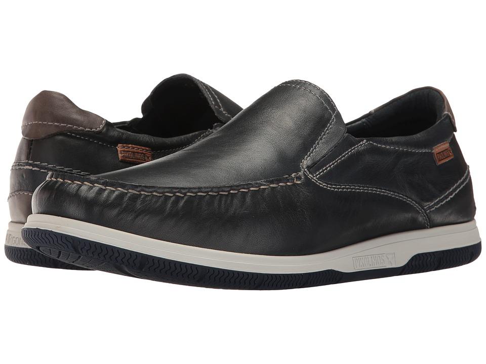 Pikolinos - Almeria 08L-3096 (Navy Blue/Dark Grey) Men's Shoes
