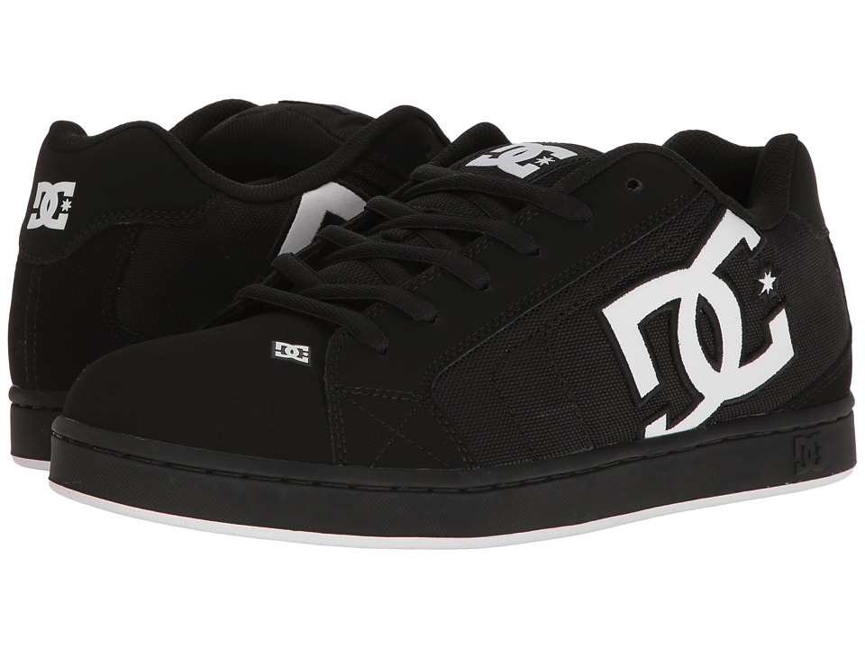 DC - Net SE (Black/White/Black 2) Men's Skate Shoes