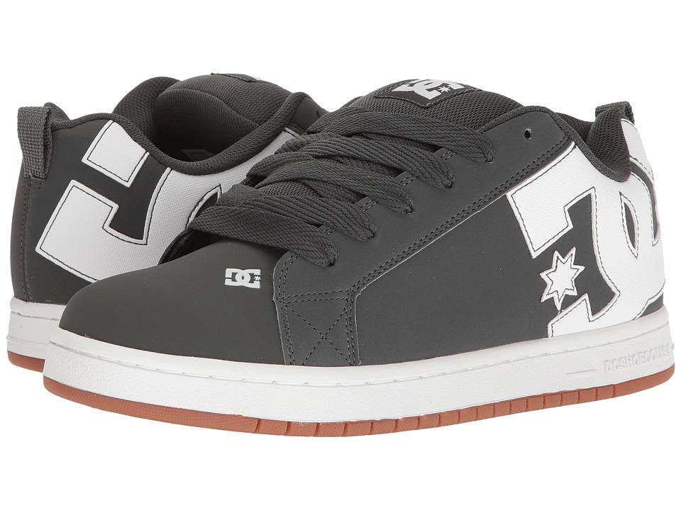 DC Court Graffik Shoes - Grey Gum - L29w7363