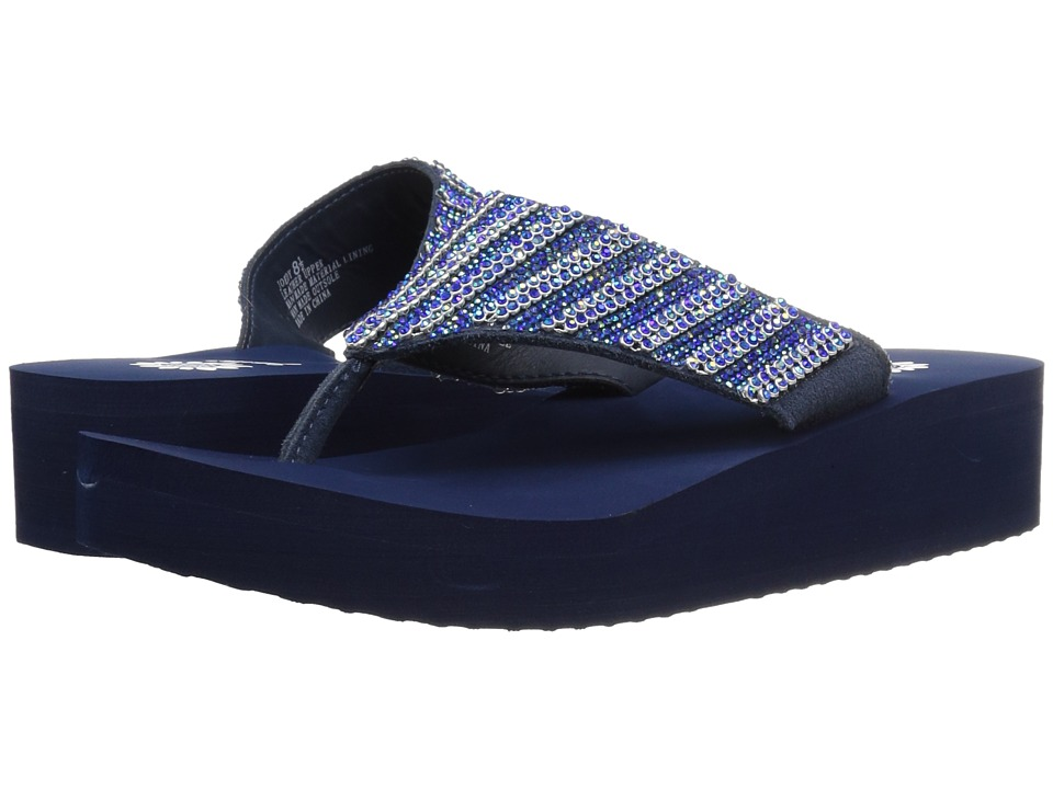 Yellow Box - Joedy (Navy) Women's Sandals