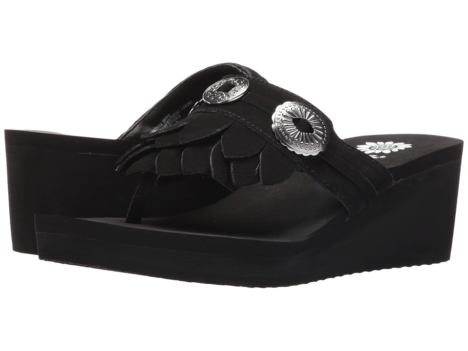 Yellow Box - Katana (Black) Women's Sandals
