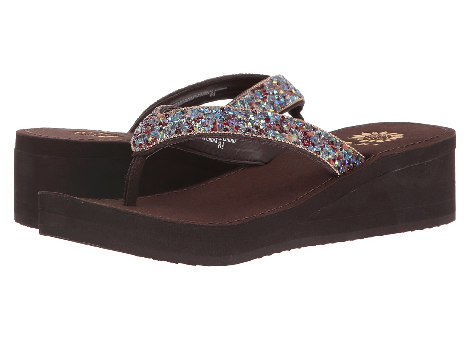 Yellow Box - Festival (Brown) Women's Sandals