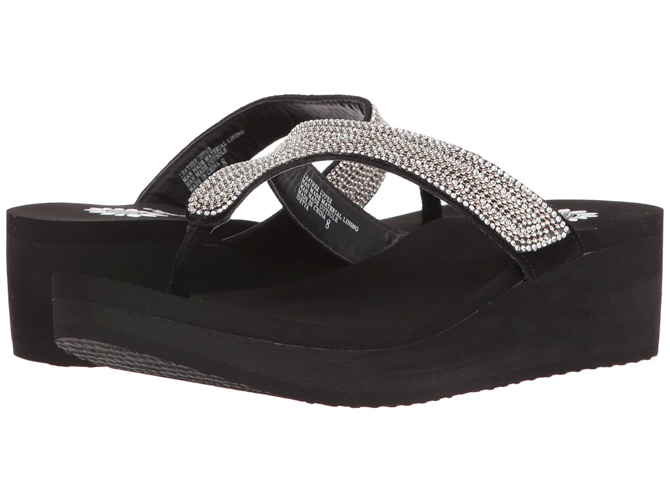 Yellow Box - Idetta (Clear) Women's Sandals
