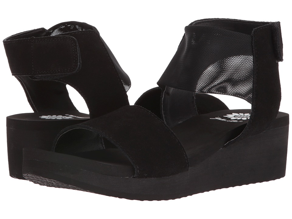 Yellow Box - Jabbar (Black) Women's Sandals